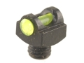 "Marble's Expert Shotgun Front Bead Sight .094"" Diameter M3x0.5 Thread .100"" Shank Fiber Optic Green"