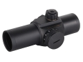 Sightron Red Dot Sight 33mm Tube 1x 5 MOA Dot Reticle with Generation 1 and 2 Night Vision Modes Matte