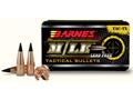 Barnes Tipped TAC-TX Bullets 300 AAC Blackout/300 Whisper (308 Diameter) 120 Grain Boat Tail Lead-Free Box of 50