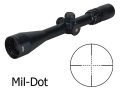 Bushnell Elite 4200 Rifle Scope 6-24x 40mm Side Focus Mil-Dot Reticle Matte