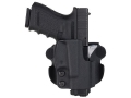 Comp-Tac Paddle Holster Straight Drop Right Hand Glock 17, 19, 22, 23, 26, 27, 33, 34, 35 Kydex Black