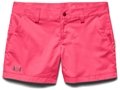 "Under Armour Women's UA Inlet Shorts Synthetic Blend 4"" Inseam"