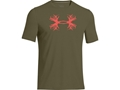Under Armour Men's UA Antler T-Shirt Short Sleeve Cotton and Polyester Blend Dumpster Diver Medium 38-40