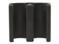 Choate Shotshell Ammunition Carrier 12 Gauge 2-Round Back Plate Mount Composite Black
