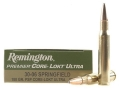 Product detail of Remington Premier Ammunition 30-06 Springfield 180 Grain Core-Lokt Ultra Bonded Pointed Soft Point Box of 20