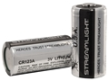 Streamlight Battery CR123A Lithium Pack of 2