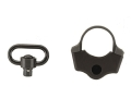Product detail of TangoDown PR-4 Sling Mount Adapter AR-15 fits Collapsible Stocks Aluminum Matte