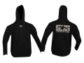 GHG Hooded Sweatshirt Cotton Black 2XL