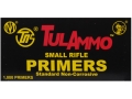 TulAmmo Small Rifle Primers Case of 5000 (5 Boxes of 1000)