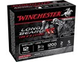 "Winchester Long Beard XR Turkey Ammunition 12 Gauge 3-1/2"" 2 oz #5 Copper Plated Shot Case of 100 (10 Boxes of 10)"