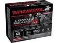 """Winchester Long Beard XR Turkey Ammunition 12 Gauge 3-1/2"""" 2 oz #5 Copper Plated Shot"""
