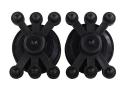 Bowjax Split Limb Monster Jax Bow Vibration Dampener Rubber Black Pack of 2