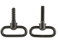 "Uncle Mike's Non-Detachable Machine Screw Type Sling Swivel Set Bolt Action Rifle 1"" Black"