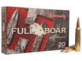 Hornady Full Boar Ammunition 7mm Remington Magnum 139 Grain GMX Boat Tail Lead-Free Box of 20
