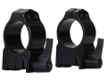 "Warne 1"" Quick-Detachable Ring Mounts Ruger 77"