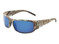 Bolle King Polarized Sunglasses Realtree Xtra Frame GB10 Blue Lens