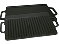 King Kooker Seasoned Cast Iron Griddle