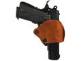 BLACKHAWK! Yaqui Slide Belt Holster Right Hand Glock 17, 19, 22, 23, 26, 27, 36 Leather Brown