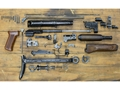 Military Surplus AK-47 Polish Under Folding Stock Parts Kit 7.62x39mm