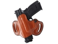 DeSantis Mini Slide Belt Holster Left Hand Springfield XD Leather Tan