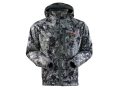Sitka Gear Men's Stratus Jacket Polyester Gore Optifade Elevated Forest Camo 3XL 54-57