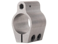 "Badger Ordnance Low Profile Gas Block Clamp On AR-15, LR-308 Standard Barrel .750"" Inside Diameter Stainless Steel"