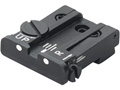 LPA TPU Adjustable Rear Sight Glock 17, 19, 22, 23, 34, 35 Steel White Dot