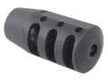 PRI Muzzle Brake Quiet Control 1/2&quot;-28 Thread AR-15 Steel Matte