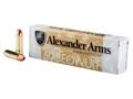Product detail of Alexander Arms Ammunition 50 Beowulf 335 Grain Rainier Plated Hollow Point Box of 20