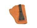 Galco Tuck-N-Go Inside the Waistband Holster Right Hand S&W J Frame, 36, 442, 649 Bodyguard Leather Brown