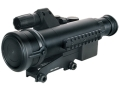 Pulsar Sentinel GS CF-Super 1st+ Generation Night Vision Rifle Scope 2x 50mm Illuminated Red or Green Rangefinding Reticle with Integral Weaver-Style Mount Matte