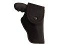 Uncle Mike&#39;s Hip Holster with Flap Right Hand Ruger Super Redhawk Alaskan 2.5&quot; Barrel Nylon Black