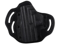 DeSantis Intimidator Outside the Waistband Holster Left Hand Sig Sauer P229, P229R, P229DAK P220, P220R, P226 Kydex and Leather Black
