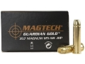 Product detail of Magtech Guardian Gold Ammunition 357 Magnum 125 Grain Jacketed Hollow Point Box of 20