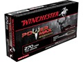 Winchester Power Max Bonded Ammunition 270 Winchester 130 Grain Protected Hollow Point Box of 20