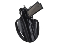Bianchi 7 Shadow 2 Holster Left Hand Colt King Cobra, Python, S&amp;W K, L-Frame 4&quot; Barrel Leather Black