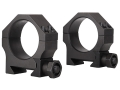 Valdada IOR 30mm Tactical Heavy Duty Picatinny-Style Rings Matte