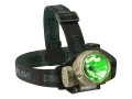 Streamlight Trident Headlamp with 3 Green LEDs and Batteries (3 AAA Alkaline) Polymer Camo