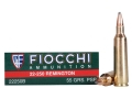 Fiocchi Shooting Dynamics Ammunition 22-250 Remington 55 Grain Pointed Soft Point Box of 20
