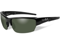 Wiley X Black Ops WX Saint Polarized Sunglasses  Smoke Green Lens