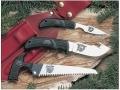 Outdoor Edge KodiPak Kodi-Caper Fixed Blade Hunting Knife, Kodi-Skinner Fixed Blade Hunting Knife and Kodi-Saw Combination Set