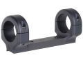 DNZ Products Game Reaper 1-Piece Scope Base with 1&quot; Integral Rings Remington 742, 760 Matte Low