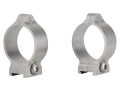 Talley 30mm Fixed Scope Rings Stainless Steel Low