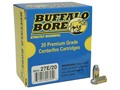 Buffalo Bore Ammunition 380 ACP 100 Grain Hardcast Flat Nose Box of 20