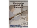 American Gunsmithing Institute (AGI) Technical Manual &amp; Armorer&#39;s Course Video &quot;Winchester Model 12 Shotguns&quot; DVD