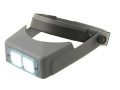 Donegan Optical OptiVISOR Magnifying Headband Visor with 2-3/4X at 6&quot; Lens Plate
