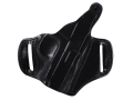 DeSantis Thumb Break Scabbard Belt Holster Right Hand Colt Pocketlite, Mustang, Pony Leather Black