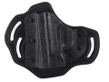 DeSantis Intimidator Outside the Waistband Holster Left Hand Springfield XD9, XD40, XDM Kydex and Leather Black