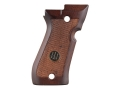 Beretta Factory Grips Beretta 84F Cheetah Wood Brown