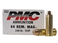 PMC Bronze Ammunition 44 Remington Magnum 240 Grain Soft Point Box of 25